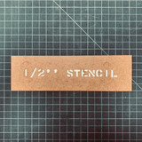 Custom Cut Stencil