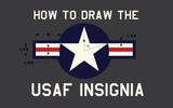 How to Draw the USAF Insignia Star and Bars