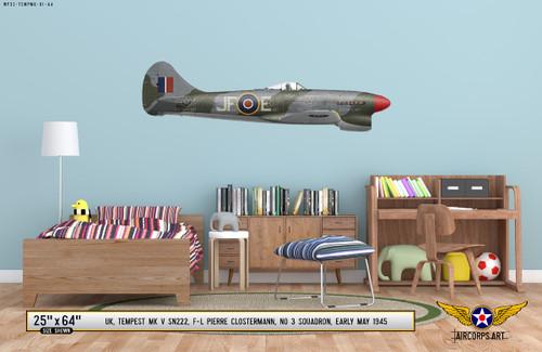 Hawker Tempest Mk V Decorative Vinyl Decal