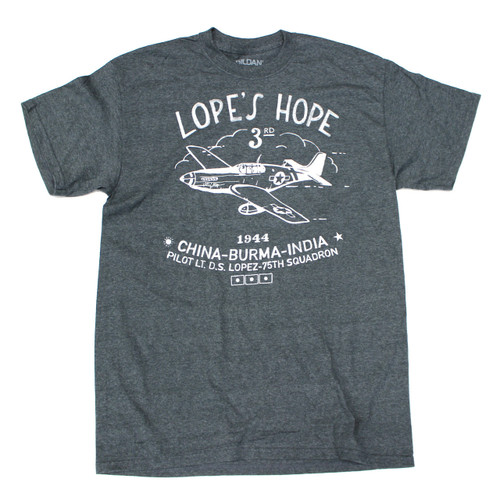 "P-51C Mustang ""Lope's Hope 3rd"" Limited Edition  T-Shirt"