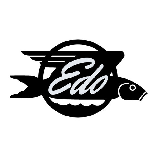 EDO Aircraft Die Cut Logo Decal