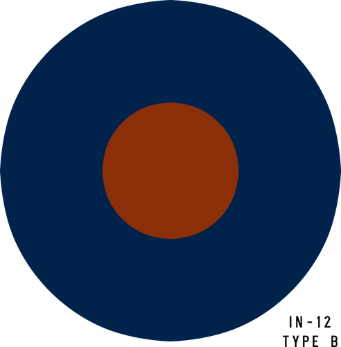 RAF Type B Military Aircraft Roundel Insignia
