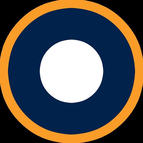 RAF SEAC Military Aircraft Roundel Insignia