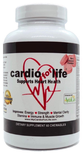 CardioForLife Chewables - Berry