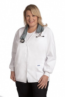 Navy Lab Coat