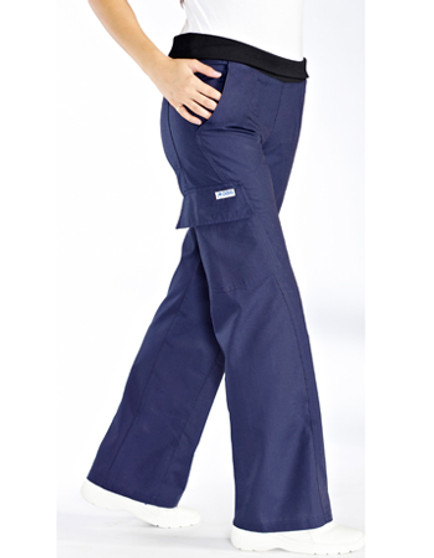 416P - Women pants Blue