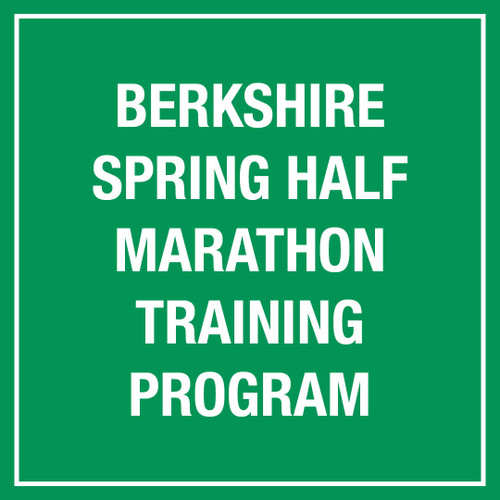Berkshire Spring Half Marathon Training Program
