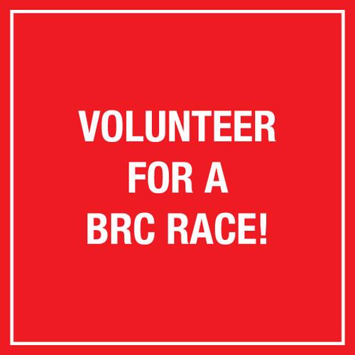 Volunteer for a BRC Race!