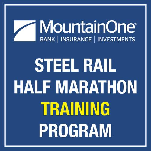 MountainOne Steel Rail Half Marathon Training Program 2022
