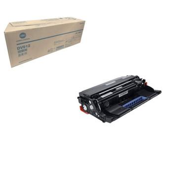 Konica Minolta A8H403D, DV912 Developer Unit - Black - 12,00,000 Yield