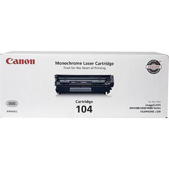 Canon 104 Black Cartridge (0263B001) 2,000 Page Yield