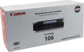 Canon 106 Black Toner Cartridge (0264B001) 5,000 Page Yield