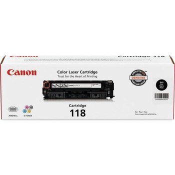 Canon 118 Black Toner Cartridge Standard Yield 3,400 Pages (2662B001)