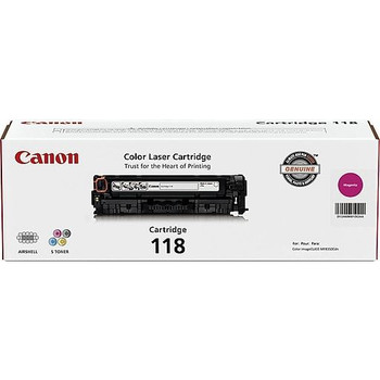 Canon 118 Magenta Toner Cartridge Standard Yield 2,900 (2660B001)
