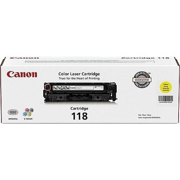 Canon 118 Yellow Toner Cartridge Standard Yield 2,900 Pages (2659B001)