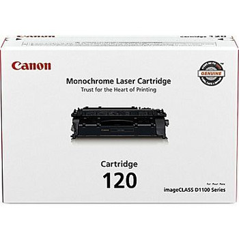 Canon 120 Black Toner Cartridge Standard Yield 5,000 Pages (2617B001)