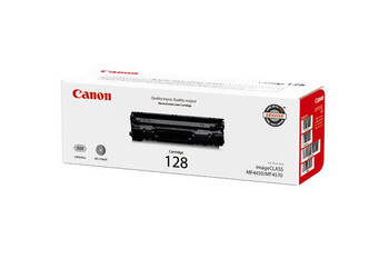 Canon 128 Black Toner Cartridge Standard Yield 2,100 Pages (3500B001)