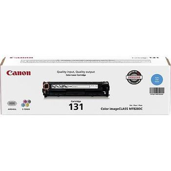 Canon 131 Cyan Toner Cartridge Standard Yield 1,500 Pages (6271B001)