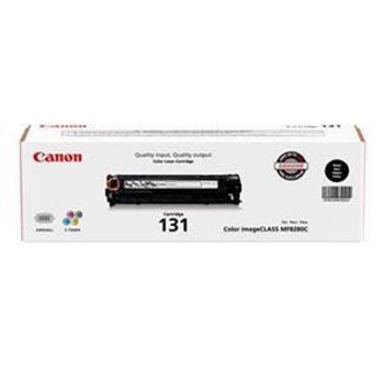 Canon 131 Black Toner Cartridge Standard Yield 1,400 Pages (6272B001)