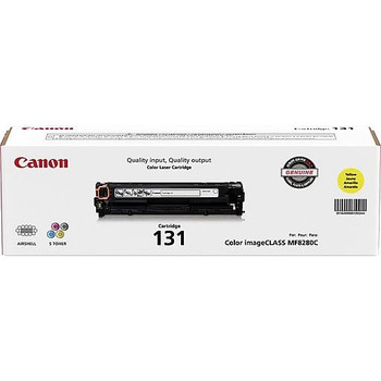 Canon 131 Yellow Toner Cartridge Standard Yield 1,500 Pages (6269B001)