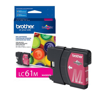 Brother LC61M Ink Cartridge - Magenta - Yield 325 Pages