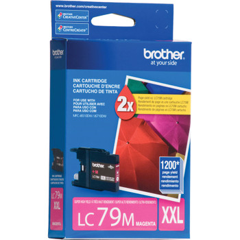 Brother LC79M Super High Yield Ink Cartridge - Magenta - 1200 Yield