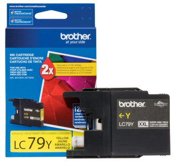 Brother LC79Y Super High Yield Ink Cartridge - Yellow - 1200 Pages