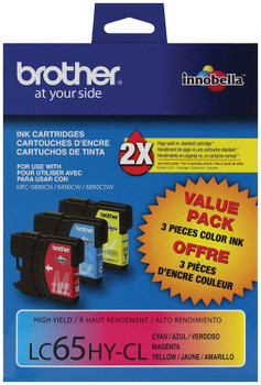 Brother LC653PKS High Yield CMY Ink