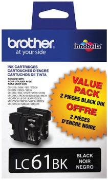 Brother LC612PKS Ink Cartridge - Black - Yield 450 Pages