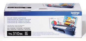 Brother TN310BK Toner Cartridge - Black - Yield 2500 Pages