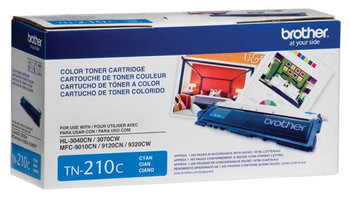 Brother TN210C Toner Cartridge - Cyan - Yield 1400 Pages