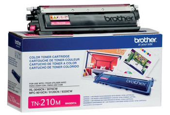 Brother TN210M Toner Cartridge - Magenta - Yield 1400 Pages