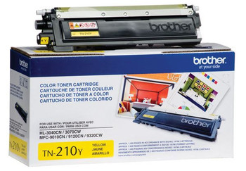 Brother TN210Y Toner Cartridge - Yellow - Yield 1400 Pages