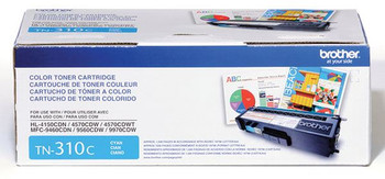 Brother TN310C Toner Cartridge - Cyan - Yield 1500 Pages
