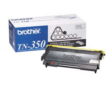 Brother TN350 Toner Cartridge - Black - Yield 2500 Pages