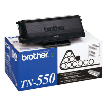 Brother TN550 Toner Cartridge - Black - Yield 3500 Pages