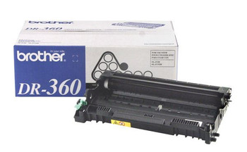 Brother DR360 Drum Unit - Black - Yield 12,000 Pages