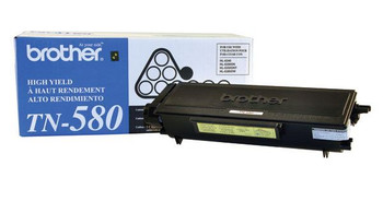 Brother TN580 High Yield Toner Cartridge - Black - Yield 7000 Pages