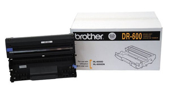 Brother DR600 Drum Unit - Black - Yield 30,000 Pages