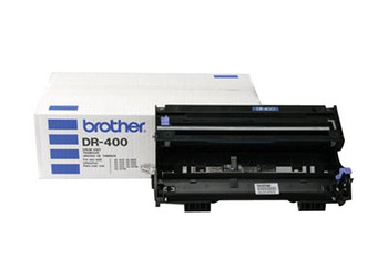 Brother DR400 Drum Unit - Black - Yield 20,000 Pages