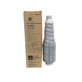 Konica Minolta A0VW134, TN614K Toner Cartridge - Black - Yield 38,500