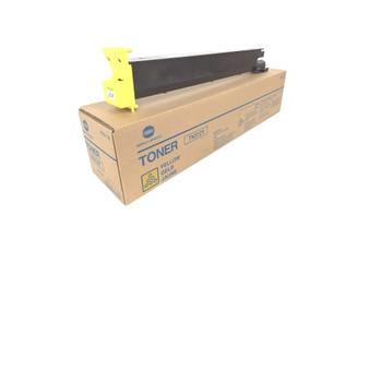 Konica Minolta 8938702, TN312Y Toner Cartridge - Yellow - 12,000 Yield