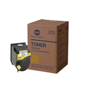Konica Minolta 4053501, TN310Y Toner Unit - Yellow - Yield 11,500 Page