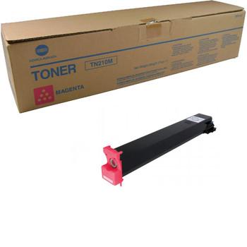 Konica Minolta 8938-507, TN210M Toner Unit - Magenta - Yield 12,000