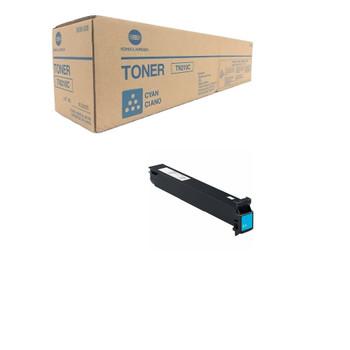 Konica Minolta 8938-508, TN210C Toner Unit - Cyan - Yield 12,000 Page