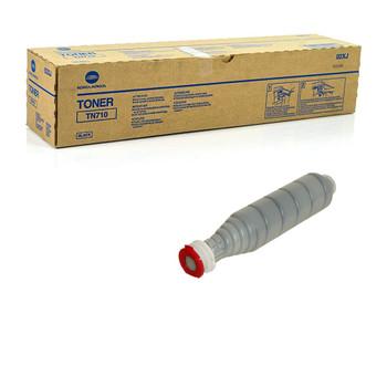 Konica Minolta 02XJ, TN710 Toner Cartridge - Black - Yield 55,000 Page