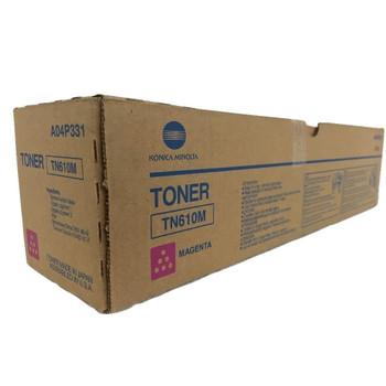 Konica Minolta A04P331, TN610M Toner Cartridge - Magenta -24,000 Yield