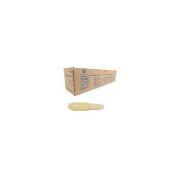 Konica Minolta A0VW235, TN612Y Toner Cartridge - Yellow - Yield 25,000