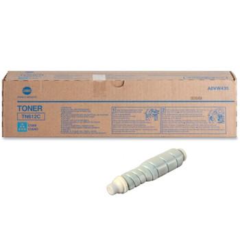 Konica Minolta A0VW435, TN612C Toner Cartridge - Cyan - 25,000 Yield