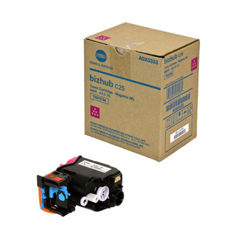 Konica Minolta A0X5333, TNP27M Toner Cartridge - Magenta - 6,000 Yield